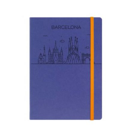 Angel Designer Cover with Elastic Closure Notebook Diary