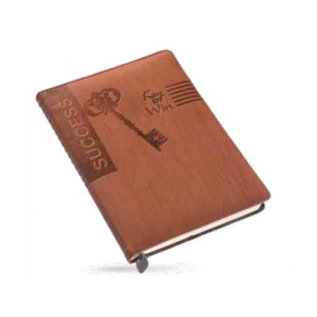 Angel Key To Win Leatherite PU Cover Diary