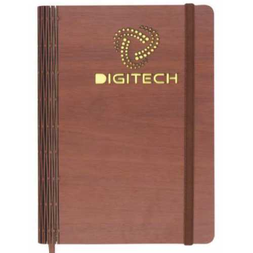 Angel Wooden Notebook Diary - 192
