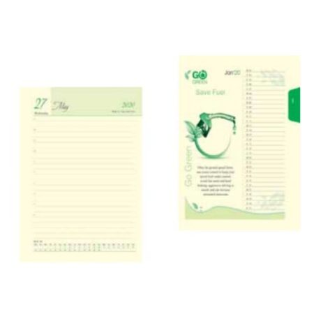 Go Green Leatherite Diary