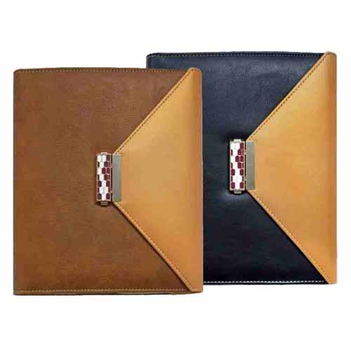 Folder Diary with Lock, Calculator & Bookmark