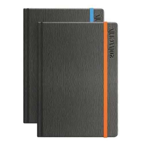 Textured Cover Art Engraving Diary
