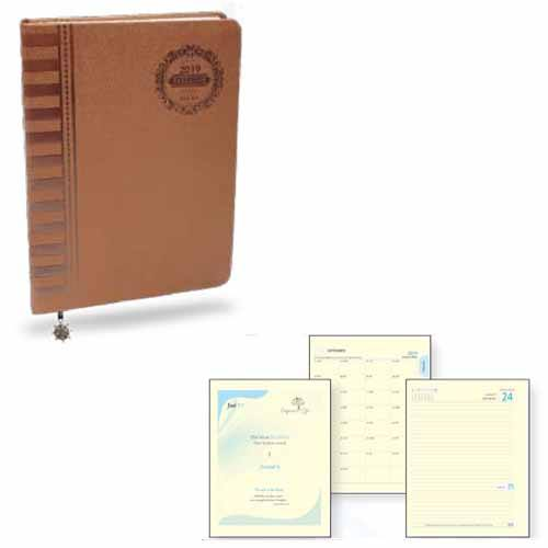 Angel Empower Life Leatherite PU Cover Diary