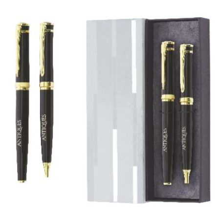 Promotional Black Pen Set