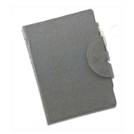 Circular Magnetic Closure with Pen Holder Notebook Diary