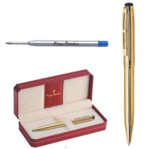 Pierre Cardin Gold Stone Bright Gold Exclusive Ball Pen