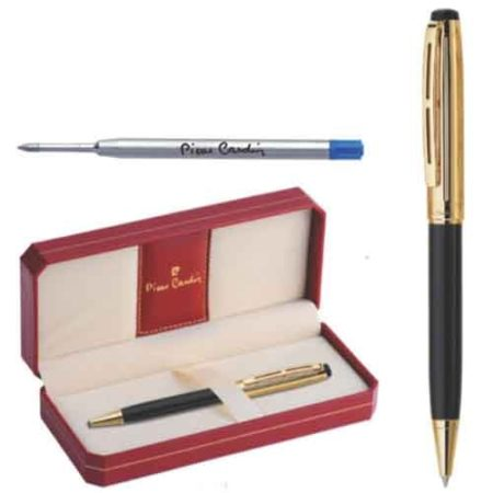 Pierre Cardin Gold Stone Black n Gold Exclusive Ball Pen