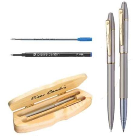 Pierre Cardin Eiffel Tower Set of Roller Pen & Ball Pen Pen