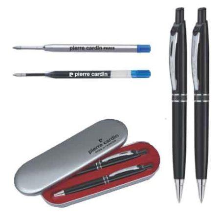 Pierre Cardin Success Silver Set of Roller Pen & Ball Pen