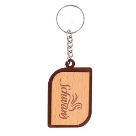 Wooden Key Chain 01