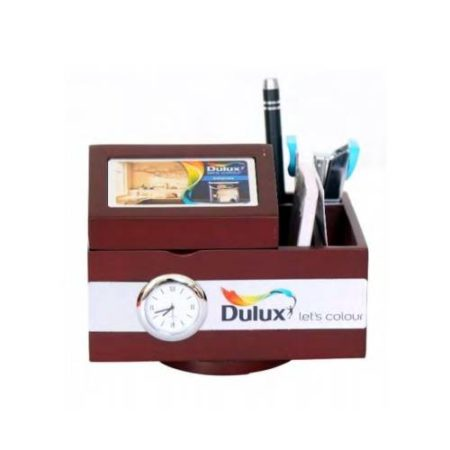 Office Table Top Mobile Stand & Memo Pad