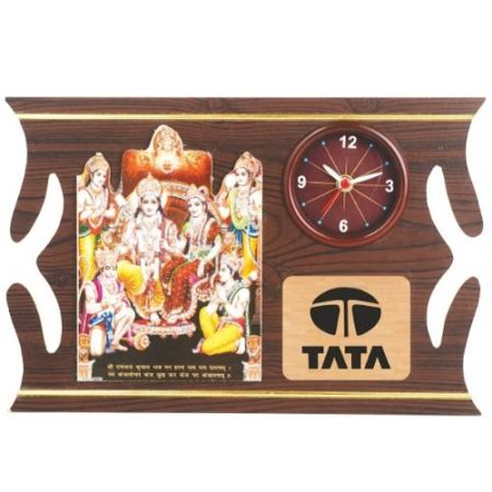 Ram Sita God Frame / Wall Hanging With Watch 3008