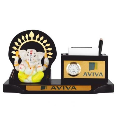 Desk Organizer / Table Top - God Idol with Pen Stand