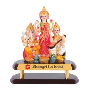 Laxmi Ganesh Saraswati God Idol