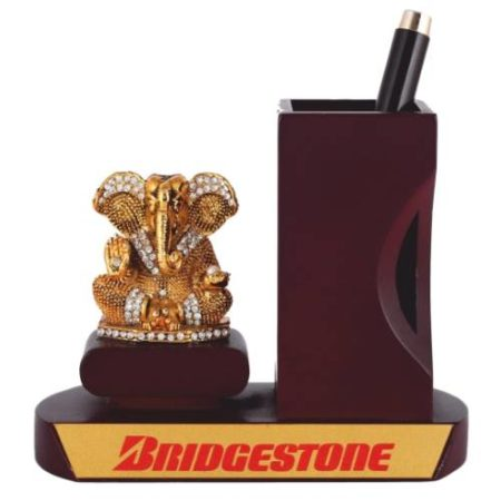 Desk Organizer / Table Top - God Idol with Pen Stand 01