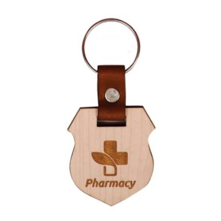 Wooden Key Chain 09