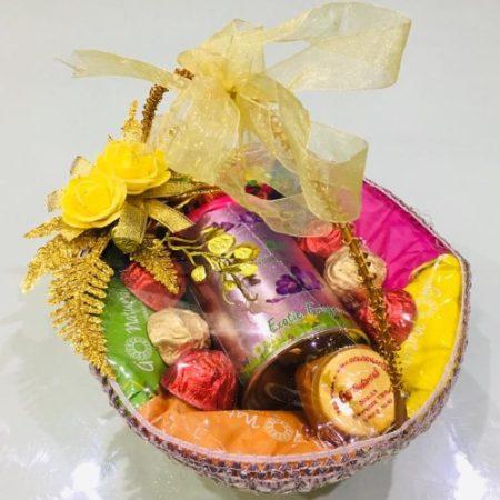 Colourful Holi Basket