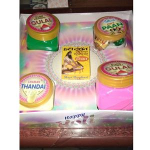 Holi Hamper Herbal Colours & Thandai