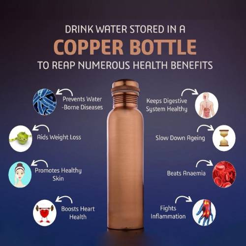 Copper bottles benefits