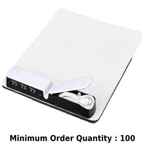 Mouse Pad with USB Hub