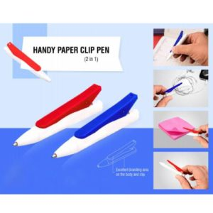 Handy Paper Clip Pen ( 2 in 1 ) - L -106