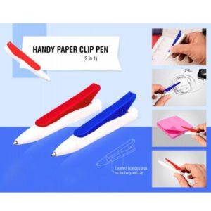 Handy Paper Clip Pen ( 2 in 1 ) - L -106