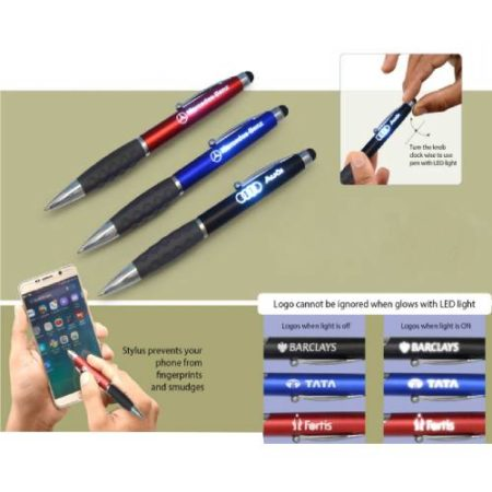 Magic Twist Pen with Logo Highlight