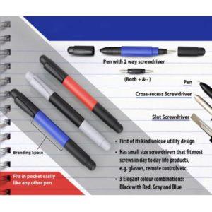 Pen - 2 Way Screwdriver
