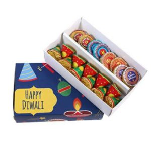 Cracker Shaped Chocolate Gift Box
