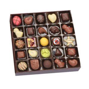 Assorted Chocolate Gift Box 25 pcs