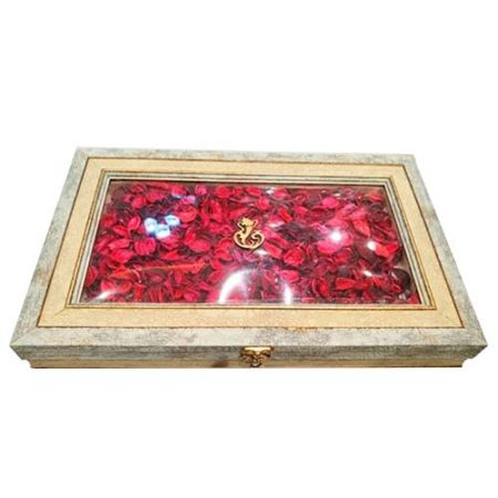 Rose Decorative Dry Fruit Box