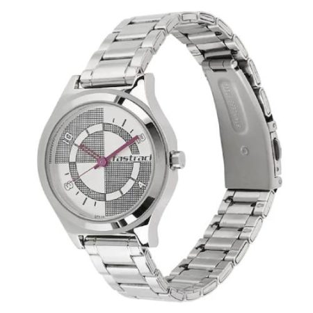 Fastrack Checkmate Dial Watch 6152SM01