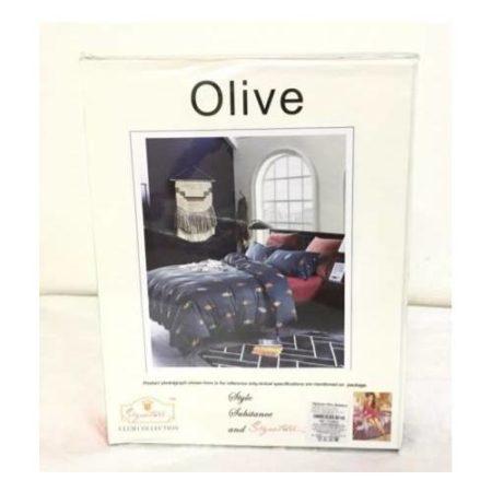 signature Olive double bedsheet