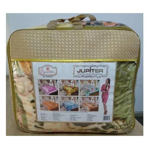 Signature jupiter super soft double bed blanket