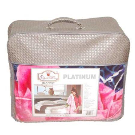 Signature platinum double bed blanket