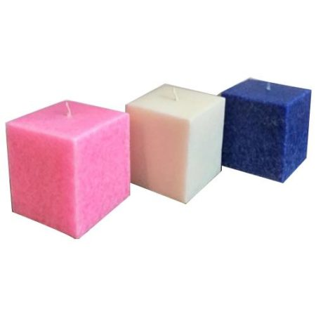 Marble Square Pillar Candle