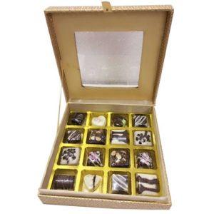 Customized Chocolate Gift Box 16 Pcs
