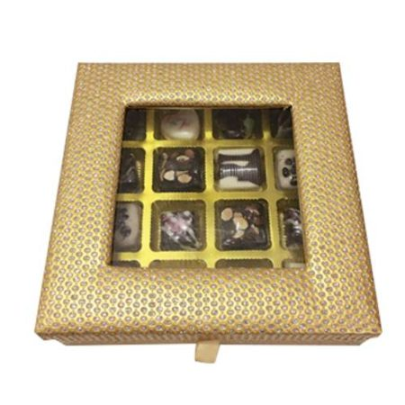 Customized Chocolate Gift Box 16 Pcs