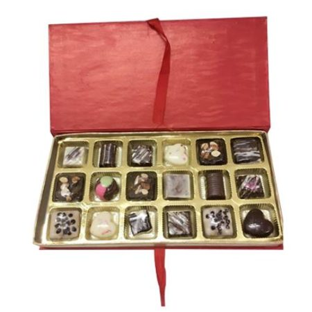 Customized Assorted Chocolates 18 Pcs