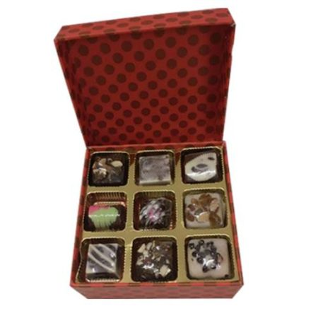 Handmade Chocolates 9 Pcs