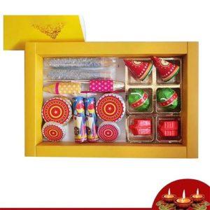 Edible Cracker Chocolates Gift Box