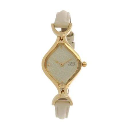 Titan Raga Champagne Dial Watch NK2531YL01