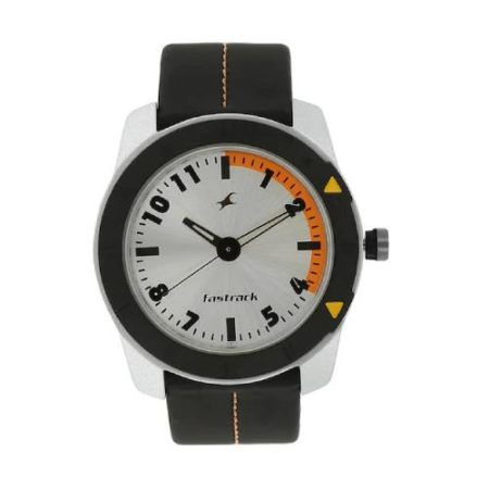 Fastrack Grey Dial Watch NK3015AL01