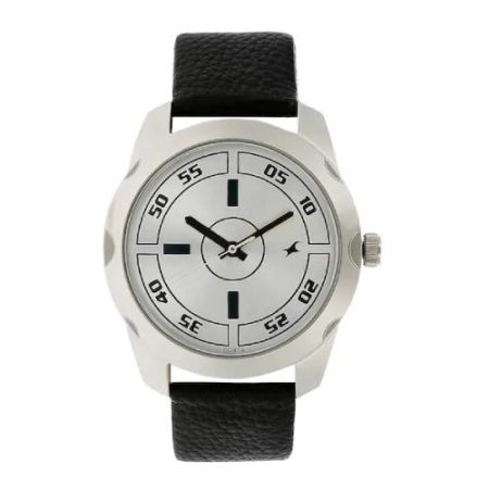 Fastrack Silver Dial Watch NK3123SL01