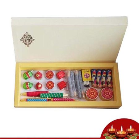 Diwali Cracker Shaped Chocolates Gift Box