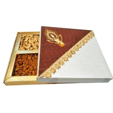 Beautiful Diwali Special Dry Fruit Box