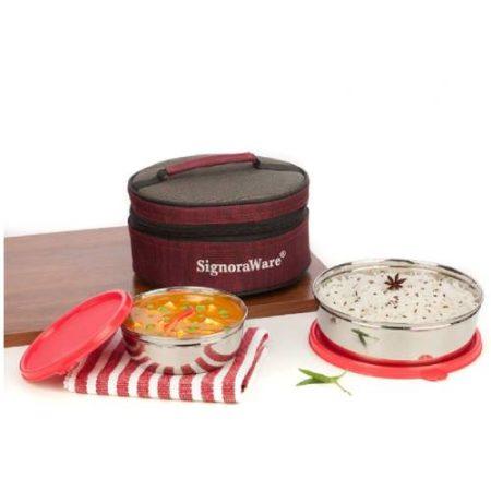 Signoraware Classic Steel Lunch Box