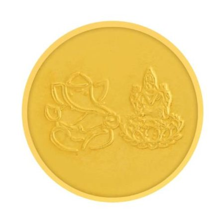 Tanishq 22KT Gold Coin 1 Gram