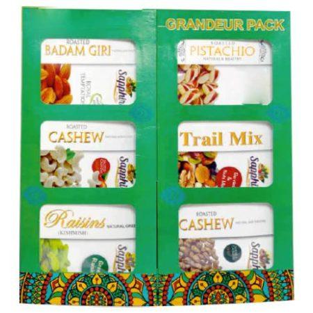 Grandeur Pack Dry Fruits (Roasted & Salted)