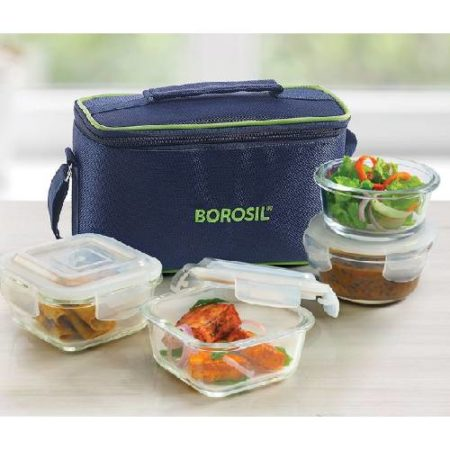 Borosil Universal Glass Lunch Box